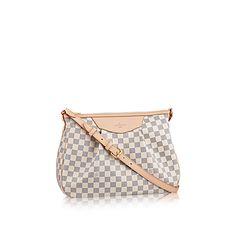 Siracusa MM Damier Azur Canvas - Handbags   LOUIS VUITTON