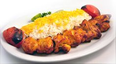Joojeh Kabab: Joujeh Kabab is barbecued chicken with olive oil, tomatoes and saffron.