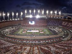 World Record - Largest crowd to watch a college football game. Over 156,000…