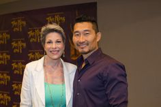 Want to See Something Wonderful? The King and I's Marin Mazzie & Daniel Dae Kim Get to Know the Press