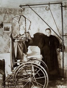 Why do so many historical medical and nursing pictures look terrifying?