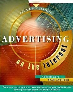 Advertising on The Internet 2nd Edition 2 Second Free SHIP 0471344044   eBay