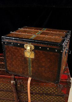 Circa 1912 Louis Vuitton Steamer Trunks