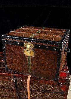 Circa 1912 Louis Vuitton Steamer Trunks