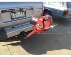 Vehicle Mounted Vice Stand – Hayman Reese Towbar Type