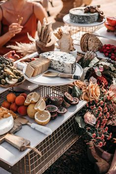 Grazing Tables: 18 Ideas for Your Wedding and How to Make Your Own - hitched.co.uk Top Wedding Trends, Wedding Designs, Sweet Table Wedding, Buffet Table Wedding, Cheese Table Wedding, Wedding Tables, Grazing Tables, Food Platters, Green Wedding Shoes