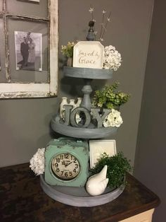 Farmhouse table decor...