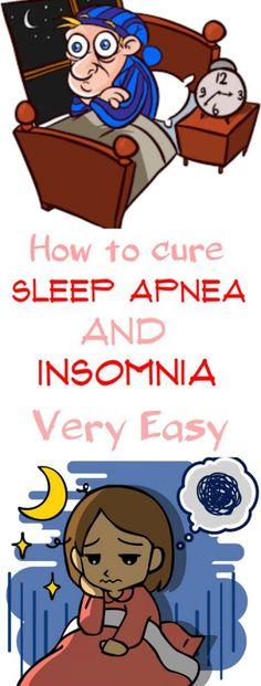 How to cure sleep apnea and insomnia very easy