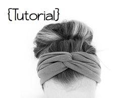 DIY Twisted Headband - do it yourself divas