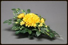 Dekoracja nagrobna Flower Vases, Flower Arrangements, Flowers, Ikebana, Floral Design, Centerpieces, Fruit, Plants, Etsy