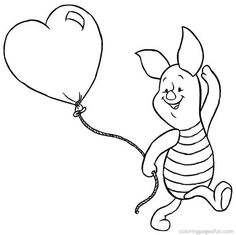 Winnie the Pooh Coloring Pages 56 | Free Printable Coloring Pages
