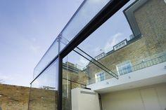 Glass ceiling - glass window beautiful architecture