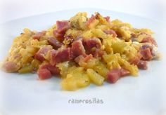 Huevos rotos con patatas lekue 3