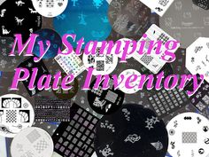 Spellbinding Nails: My Stamping Plate Inventory