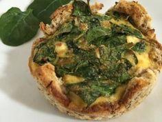 Individual Egg, Spinach and Feta Bread Cases recipe