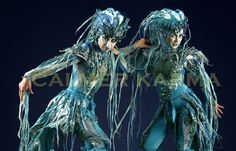 Water & Under The Sea Themed Entertainment - London and UK Corporate Entertainment, Party Entertainment, Mythical Creatures, Sea Creatures, Stilt Costume, Aerial Acrobatics, Water Images, Dinner Themes, Bonfire Night
