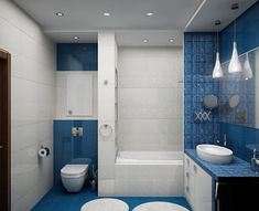Cool 78 Light Blue Bathroom Color Decorating Ideas