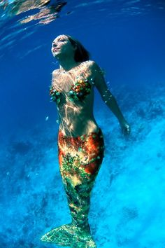 Hannah - the super pretty bejweled version of a kind-of-realistic mermaid...not quite what i'm looking for tho :)