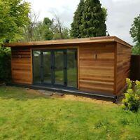 Summer House Garden, Garden Bar, Garden Studio, Garden Office, Winter Garden, Home And Garden, Summer Houses, Garden Ideas, Wooden Summer House