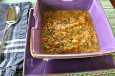 Butternut Squash & Cauliflower Stew using all sorts of vegetables for a wonderful fall dish. #nutritarian