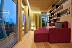 Mobile and Transportable Homes: relax in comfort