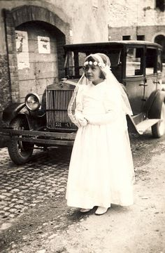 The first communion Italy 1940
