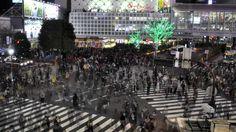 Shibuya Crossing Time Lapse - Japão | Felipe, o pequeno viajante