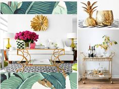 Trend Forecast: 4 of the Hottest Interior Design Trends of Spring 2014 | LOCZIdesign #HollywoodRegency #2014Trends #martinique