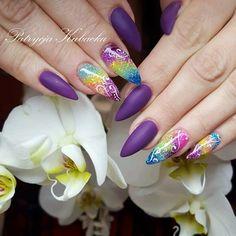 #misteromilano_official@misteromilano#instanails#blasknails#ilovehybrid#nailstyle#instamood#violetnails#glitter#glitternails#blinkblink#manicure#lovenails#nails2inspire#instanailstyle#beautiful#nailporn#misteromilano