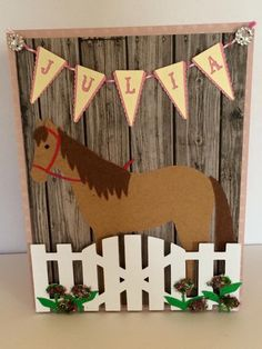 A personal favorite from my Etsy shop https://www.etsy.com/listing/231235906/horse-birthday-card