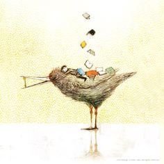 The Key of Dreams: Reading (ilustración de Yoko Tanji)