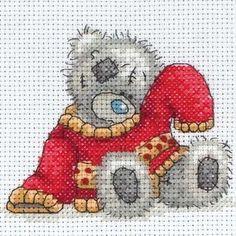cross stitch teddy bears | My Red Jumper Me to You Bear Cross Stitch Kit