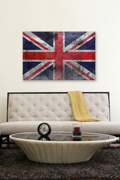 The Great British Flag Canvas Print
