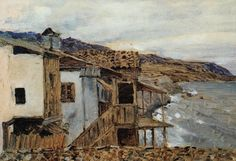 Вид на море. 1886. Исаак Ильич Левитан