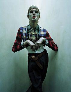 Smile: Stella Tenant & James Crewe in Vogue Italia July 2016 by Tim Walker