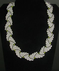 Ply Split Braiding Necklace 78