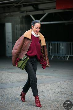 Haute Couture Spring 2017 Street Style: Brigitte Chartrand