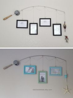 Our Favorite Handpicked Finds You'll Love To Buy Inexpensive Home Decor, Easy Home Decor, Home Decor Bedroom, Cheap Home Decor, Fishing Pole Frame, Cardboard Cat House, Bohemian Chic Decor, Shabby Chic Bedrooms, Small Bedrooms