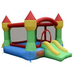 Inflatable Mighty Bounce House Castle Jumper  Without Blower