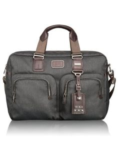 Tumi Luggage Alpha Bravo Everett Essential Tote, Anthracite, One Size Tumi,  Luggage Bags 3ae049de15