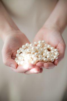 Feminine pearls. #pearls #feminine