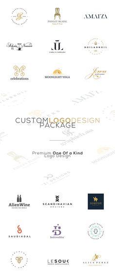 Custom OOAK Logo. Custom Logo. Business Branding. by GraphicFlava