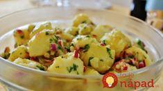 Vynikajúci zemiakový šalát