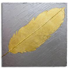 Esta é uma pintura feita pela artista Mel Gama.  Tons de prata envelhecida com pena em folha de ouro. Peça bem moderna e posso fazer uma pintura semelhante em outros tamanhos a combinar. TÍTULO: Singular DIMENSÕES: 50 x 50 x 3cm (Tela em 3D) MÉDIUM: Acrílico em tela  As laterais também são pintadas e chegarão prontos para exibição.  A simulação da decoração pode não estar com escala correta - é somente para se ter uma ideia.  Todas minhas pinturas são originais. São criados por mim a partir…