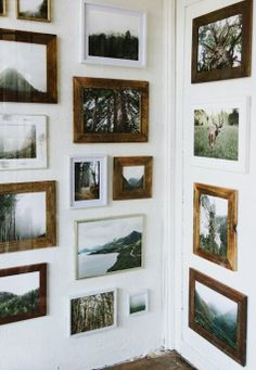 Wall of frames!