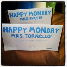 Little Bit Funky: crafty things...Happy Monday Teacher Gifts