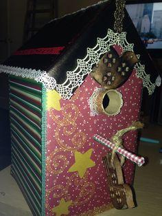 Birdhouse vogelhuisje surprise Sinterklaas kerst