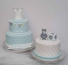 Baby Birthday Cakes, Baby Cakes, Cakes For Boys, Christening, First Birthdays, Wedding Cakes, Baby Shower, Biscuit, Birthday Cakes