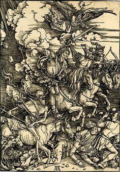 Dürer - The four horsemen of the Apocalypse
