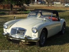 SOLD!! - 1958 MGA Old English White For Sale